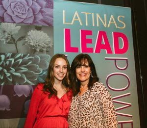 Elizabeth Suarez at Latinas Lead Summit