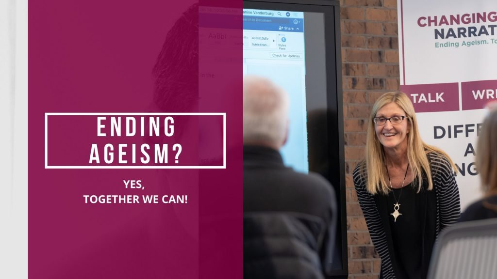ending ageism workshop online