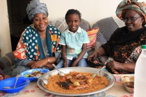 Daryn Fouther's Senegalese family