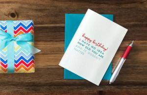 age-friendly birthday card example